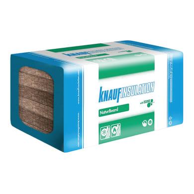 Lana di roccia 10 pezzi KNAUF INSULATION Naturboard Partition DP4 0.6 x 1 m, Sp 50 mm