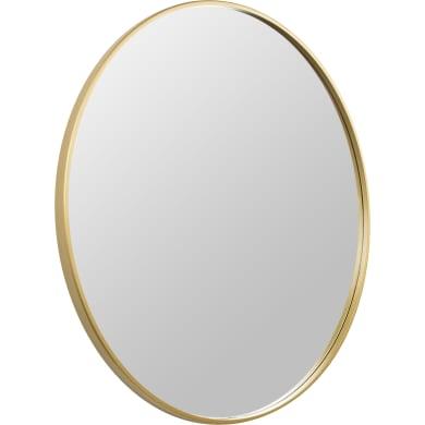 Specchio con cornice bagno rotondo L 80 x H 80 cm Ø 80 cm SENSEA