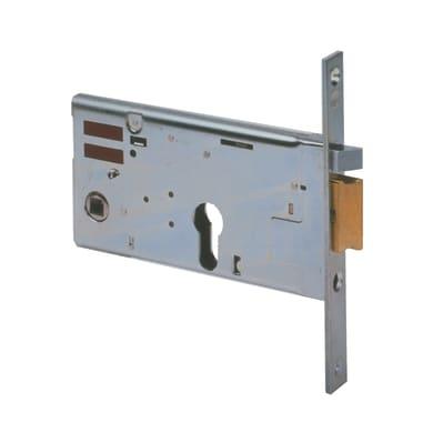 Serratura a incasso Elettroserratura a infilare E70 cilindro per cancello o rete, entrata 7 cm, interasse 67 mm destra