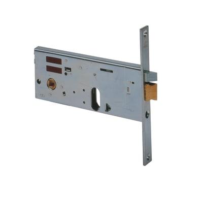 Serratura a incasso cilindro per cancello o rete, entrata 7 cm, interasse 67 mm destra