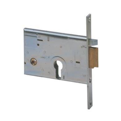 Serratura a incasso cilindro per cancello o rete, entrata 6 cm, interasse 60 mm destra