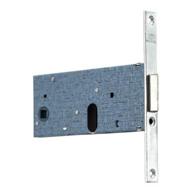Serratura a incasso cilindro per porta garage o cantina, entrata 7 cm, interasse 67 mm sinistra e destra