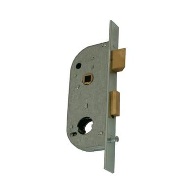 Serratura a incasso cilindro per cancello o rete, entrata 3.2 cm, interasse 66 mm sinistra e destra