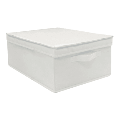 Scatola L 30 x P 43 x H 19 cm bianco