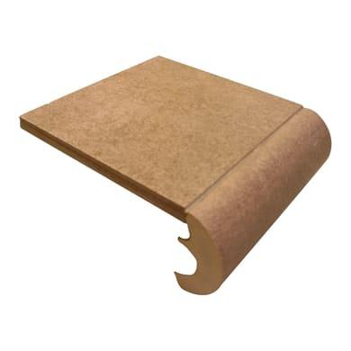 Bordo Cement H 4 cm marrone