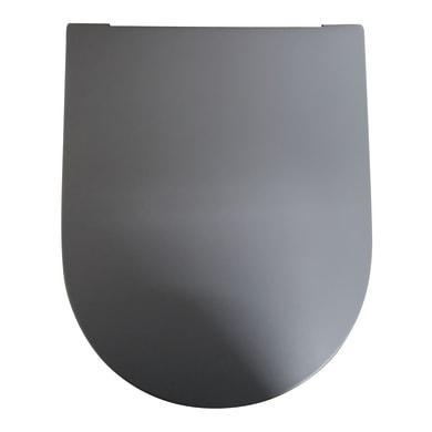 Copriwater rettangolare Dedicato per serie sanitari Tuttoevo termoindurente grigio