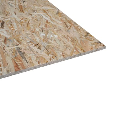 Pannello osb 3 L 80 x H 40 cm Sp 15 mm