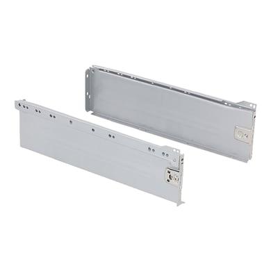 Cassetto EMUCA Ultrabox-3 L 1 x H 15 x P 35 cm grigio metallizzato