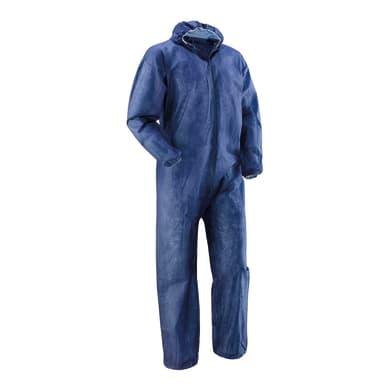 Tuta di protezione da lavoro blu tg xl