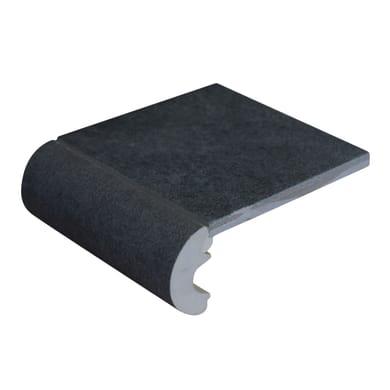 Bordo Cement L 10 x 4 cm grigio