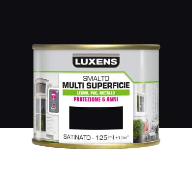 Pittura LUXENS acrilico nero ral9005 0.125 L