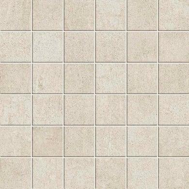 Mosaico Draft Light H 30 x L 30 cm bianco