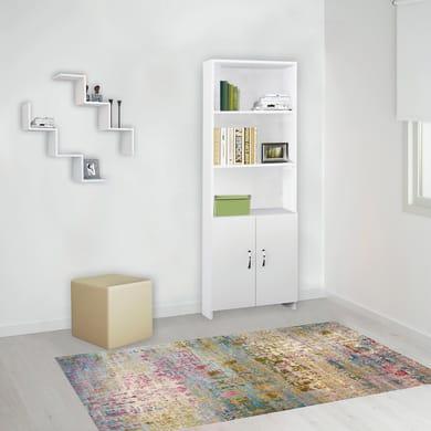 Libreria Galaksi L 56 x P 22.1 x H 169 cm bianco
