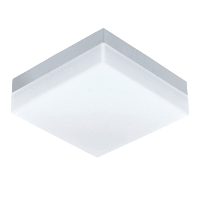 Plafoniera Sonella LED integrato in plastica, bianco, 8.2W 820LM IP44 EGLO