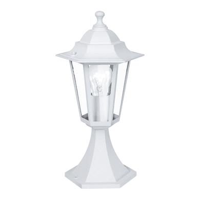 Palo della luce Laterna H40.5cm in alluminio, bianco, E27 1xMAX60W IP44 EGLO