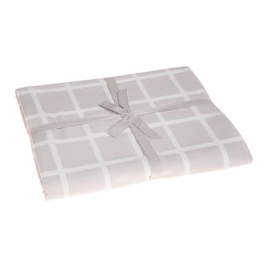 Tovaglia Ivonne color grigio perla 140x180 cm