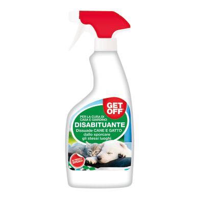 Spray repellente per cani e gatti liquido Get Off RTU 500
