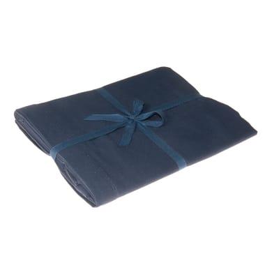 Tovaglia Greta color blu petrolio 140x180 cm