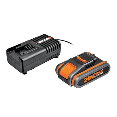 Caricabatterie WORX WA3601 20 V 2 Ah