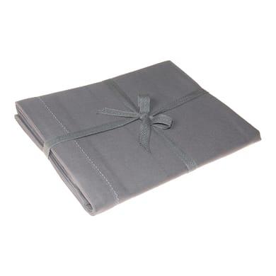 Tovaglia Greta color grigio antracite 140x180 cm