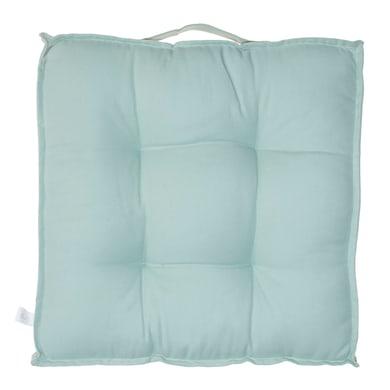 Cuscino da pavimento Greta azzurro 40x40 cm