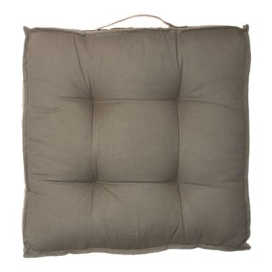 Cuscino da pavimento Greta verde 40x40 cm