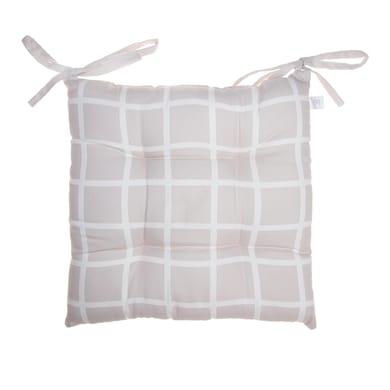 Cuscino per sedia perla 40x40 cm