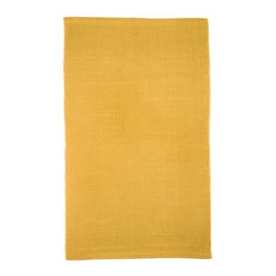 Tappeto Greta , giallo, 50x80 cm