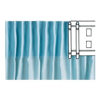 Nastro ad arricciatura automatica bianco 6.5 cm x 3.6 m, 5 pezzi