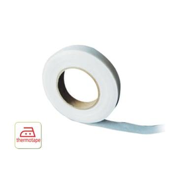 Nastro fettuccia per tenda bianco 1.5 cm x 10 m, 8 pezzi