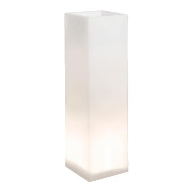 Vaso Mod'o in plastica colore bianco H 95 cm, L 26 x P 26 cm