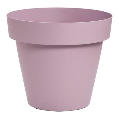 Vaso in plastica colore lilla H 29 cm, Ø 33 cm