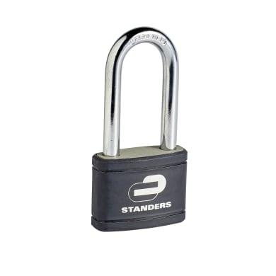 Lucchetto con chiave STANDERS in ferro x L 25 x Ø 9 mm