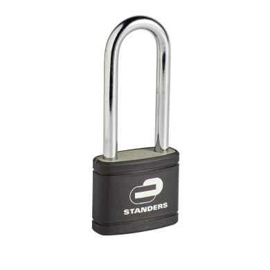 Lucchetto con chiave STANDERS in ferro x L 19.7 x Ø 6.3 mm