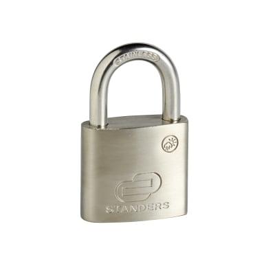 Lucchetto con chiave STANDERS in acciaio x L 19.7 x Ø 6.3 mm