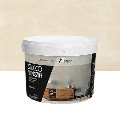 Pittura decorativa GECKOS Stucco 8 kg beige sabbia effetto cemento