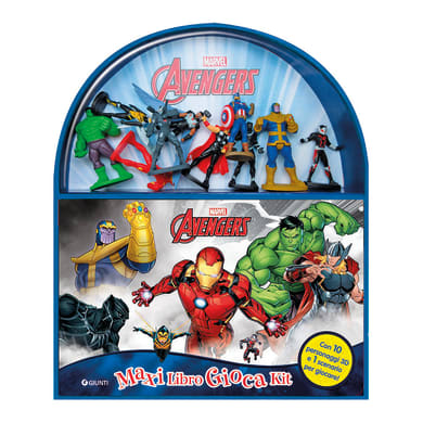 Libro Avengers, maxilibro giocakit Giunti Editore