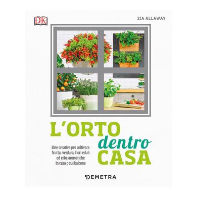 Libro L'orto dentro casa Demetra