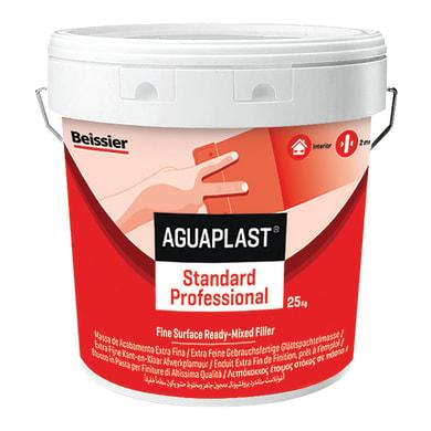 Stucco in pasta BEISSIER Aguaplast Alto Standard Professional 25 kg bianco