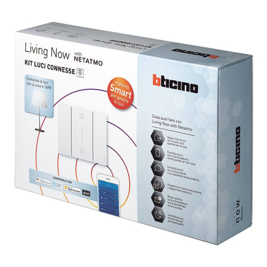 Kit luci connesse BTICINO Living NowSK100KIT per interno