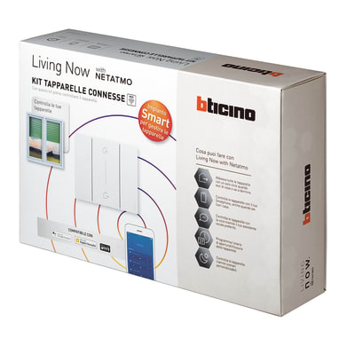 Kit tapparelle connesse BTICINO Living NowSK2000KIT per interno