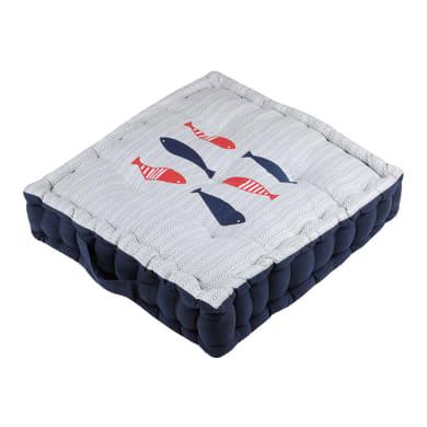 Cuscino da pavimento Concarneau rosso 45x45 cm