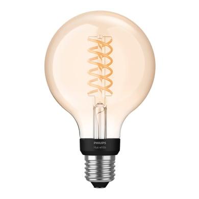 Lampadina Smart lighting Filamento LED Hue White Filament Lampadina G93 E27 9W variazione dei bianchi E27 7W = 550LM (equiv 7W) 150° PHILIPS HUE