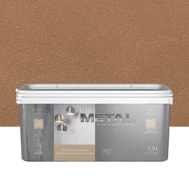 Pittura decorativa RMD DECORAZIONE Stile Metal 1.5 l ruggine effetto metallo