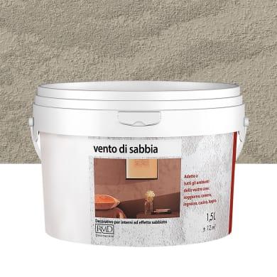 Pittura ad effetto decorativo Vento di sabbia 1.5 l marrone dune effetto sabbiato