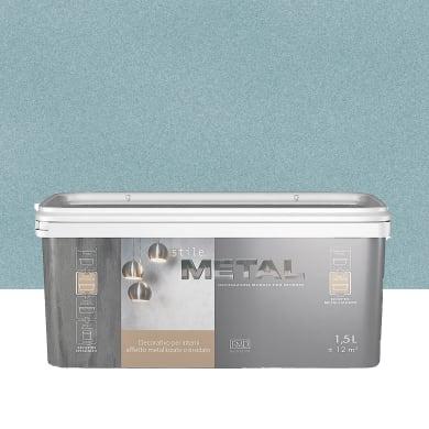 Pittura decorativa RMD DECORAZIONE Stile Metal 1.5 l verde effetto metallo