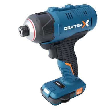 Avvitatore a impulsi a batteria DEXTER DX 20V-180 ID 20 V, senza batteria