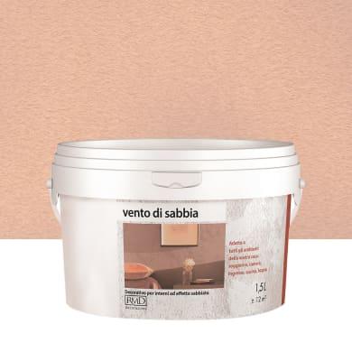 Pittura decorativa Vento di sabbia 1.5 l ambrato effetto sabbiato