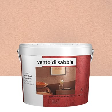 Pittura decorativa Vento di sabbia 3 l ambrato effetto sabbiato