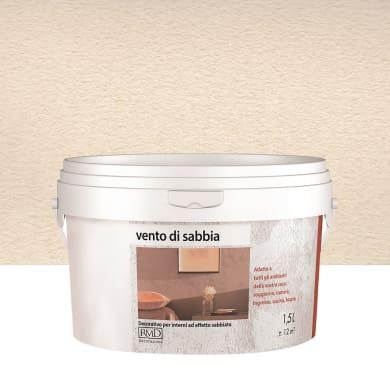 Pittura decorativa RMD DECORAZIONE Vento di sabbia 1.5 l beige deserto effetto sabbiato